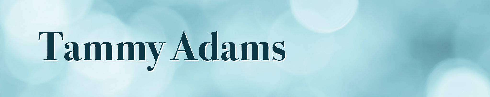 Tammy Adams Grief Counselor and Recovery Specialist