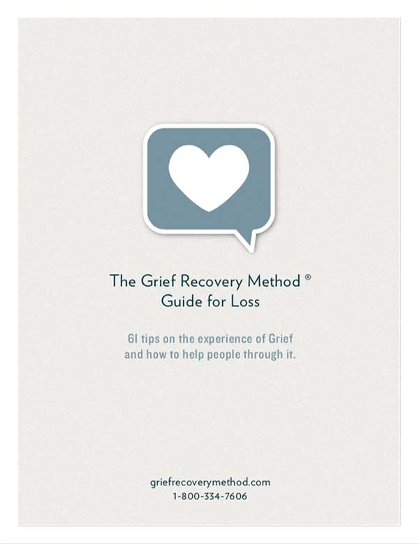 The Grief Recovery Method Guide for Loss ebook - updated
